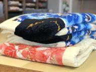 婚礼の綿布団で抱き枕ができます。